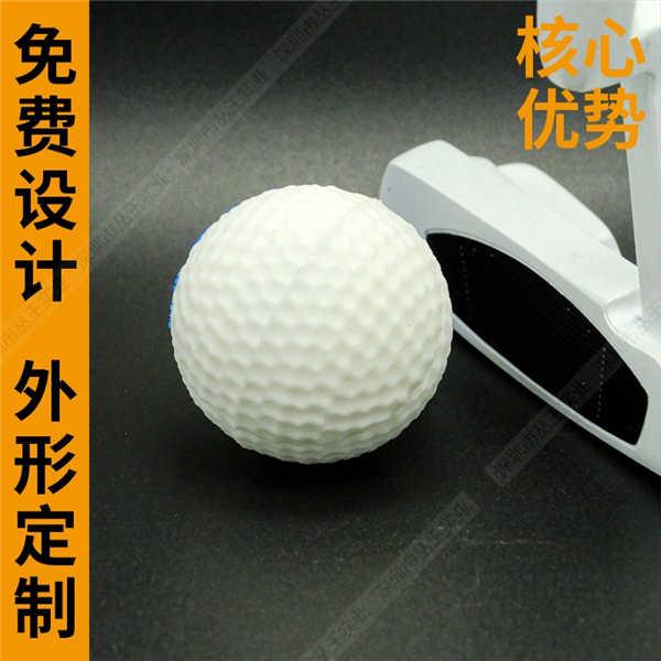 PVC软胶U盘定制 创意卡通高尔夫球U盘 个性32gbU盘