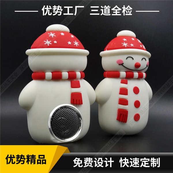 卡通音箱批发 促销礼品蓝牙音箱厂家 雪人个性蓝牙音箱工厂