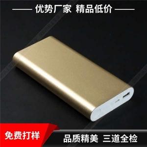 金属充电宝定制 大容量移动电源 金属充电宝定制丝印激光图案