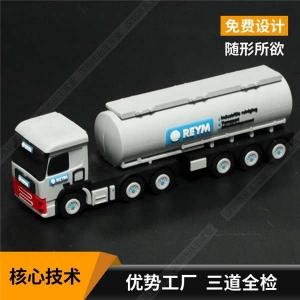 卡通充电宝定制 油罐车造型充电宝 pvc软胶充电宝定制外形