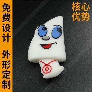 软胶硅胶U盘定制  个性创意U盘制造商 蘑菇卡通优盘厂家
